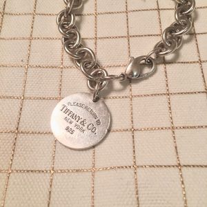 Tiffanys Round tag bracelet